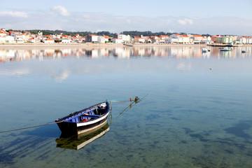 Beautiful coastal landscape of a village in Spain