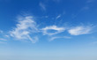 Natural blue cloudy sky background photo texture - 71245861