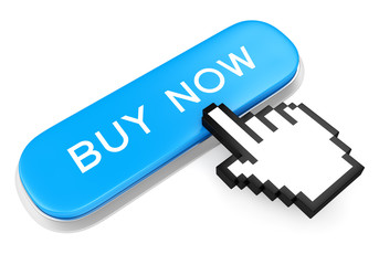 Button Buy Now and hand cursor