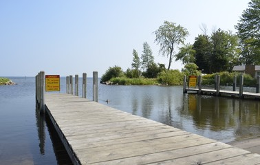 Dock for Launching Boats