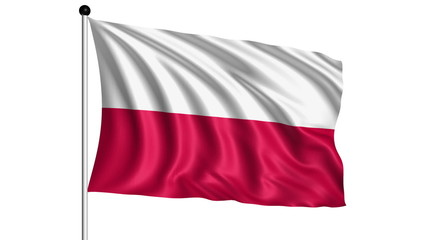 flag of Poland - loop (+ alpha channel)