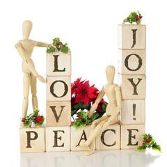 Christmas Love, Joy,and  Peace