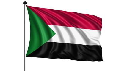 flag of Sudan - loop (+ alpha channel)