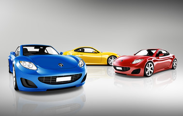 Collection of Contemporary Sport Cars