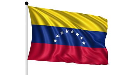 flag of Venezuela - loop (+ alpha channel)