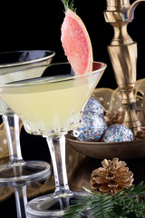 Winter Grapefruit Martini
