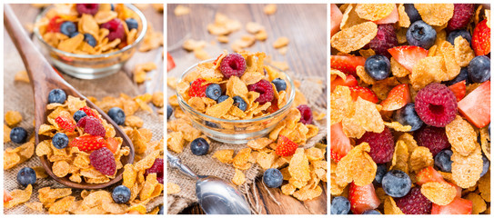 Cornflakes Collage