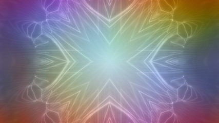 Multicolor VJ Abstract Looping Animated Background