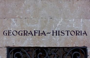 Geografia-Historia