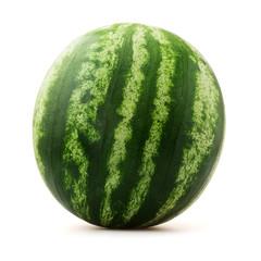 watermelon over white background
