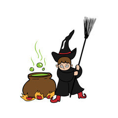 Witch magic pot