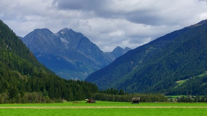 Italian Alps, time-lapse