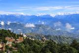 mt.everest taken in nagarkot, nepal