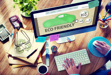 Man Planning to Buy Eco Friendly Car