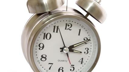 Clock Closeup Angle Timelapse