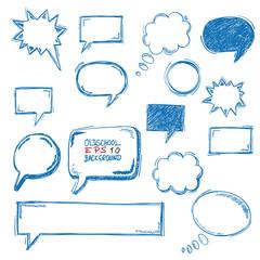 Oldschool Speech Bubbles