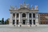 San Giovanni Laterano Facade. Rome