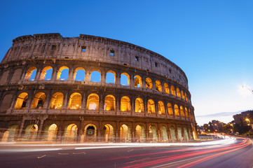 Colosseum in Rome - Italy