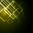 Tech shiny squares vector background
