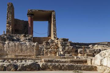 The Palace of Knossos, Heraklion, Crete, Greece