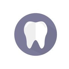 векторная иконка зуб