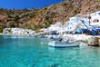 Obrazy na płótnie, fototapety, zdjęcia, fotoobrazy drukowane : Greek coastline village of Loutro in southern Crete