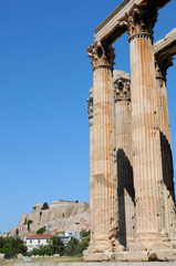 Temple of Olympian Zeus , Athens