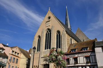 picturesque city of Gallardon in Eure et Loir