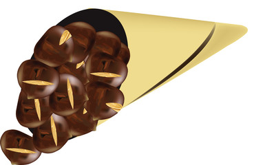 confezione di castagne