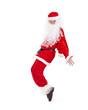 Santa Claus having fun