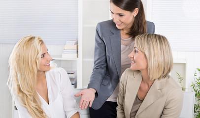 Erfolgreiche Frauen im Beruf