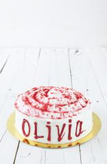 Red velvet called Olivia