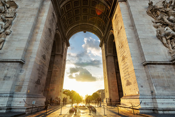 Arc de Triomphe on the Champs-Elysee