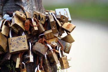 padlocks of love