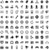 Fototapety Shadow Iconset black Icons Social Media Communication