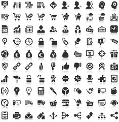 Shadow Iconset black Icons Work Business Internet
