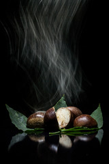 Chestnuts in the dark
