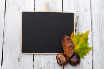 Herbst, Blätter, Oktober, Kastanien