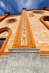 villa cortese italy   church  varese door entrance