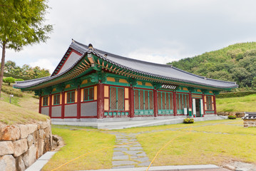 History Hall of Dongnae castle in Busan, Korea