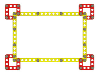 Colored photoframe