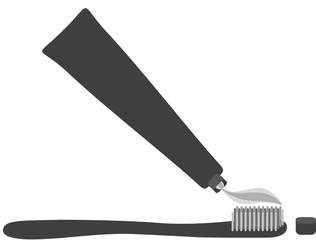 Brosse à dents Picto vecteurs