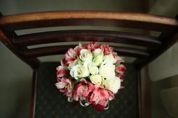 flower wedding chair