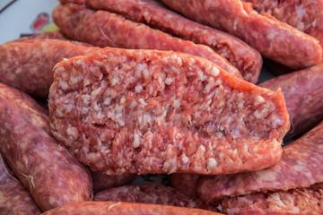 salsicce crude da cuocere