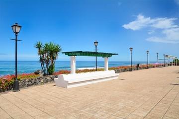 Ocean Promenade in Puerto de la Cruz, Tenerife.
