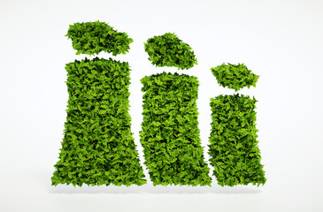 Ecology sustainable energy concept