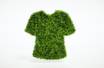 Ecology clothes concept
