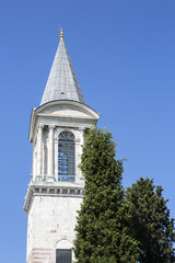 The Tower of Justice, Topkapi Palace, Istanbul, Turkey