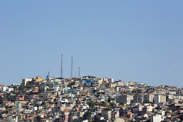 Irregular urbanization in Izmir, Turkey