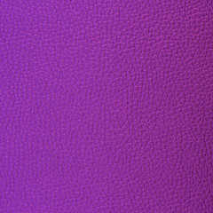 Purple leather texture and background.